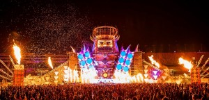 QDance Stage @ Electric Daisy Carnival 2012